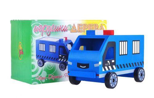 """Машинка деревянная  """"Полиция"""""""