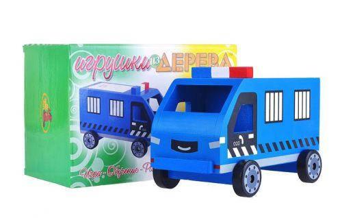 """Машинка деревянная  """"Полиция"""", фото 2"""
