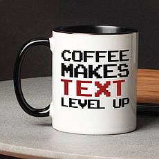 """Кружка """"Level up"""" именная, фото 2"""