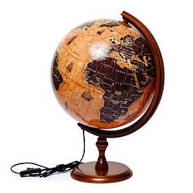 Глобус з підсвічуванням вітрильники подарунковий Glowala (рос.) 320 мм 540113