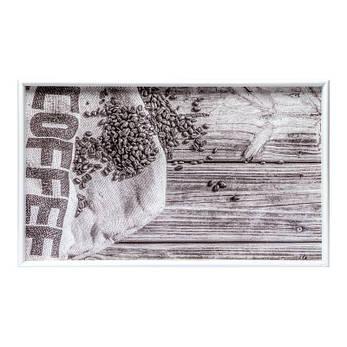 """Столик на ножках BST 710069 52*32 см. белый """"Мешок кофе"""", фото 2"""