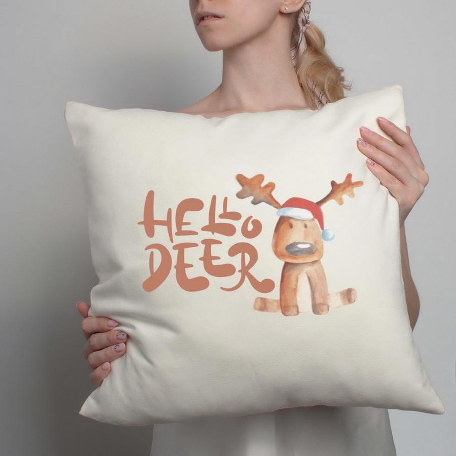 """Подушка """"Hello Deer"""""""