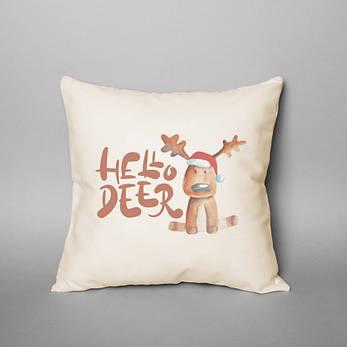 """Подушка """"Hello Deer"""", фото 2"""