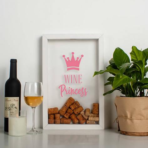 "Копилка для винных пробок ""Wine princess"", фото 2"