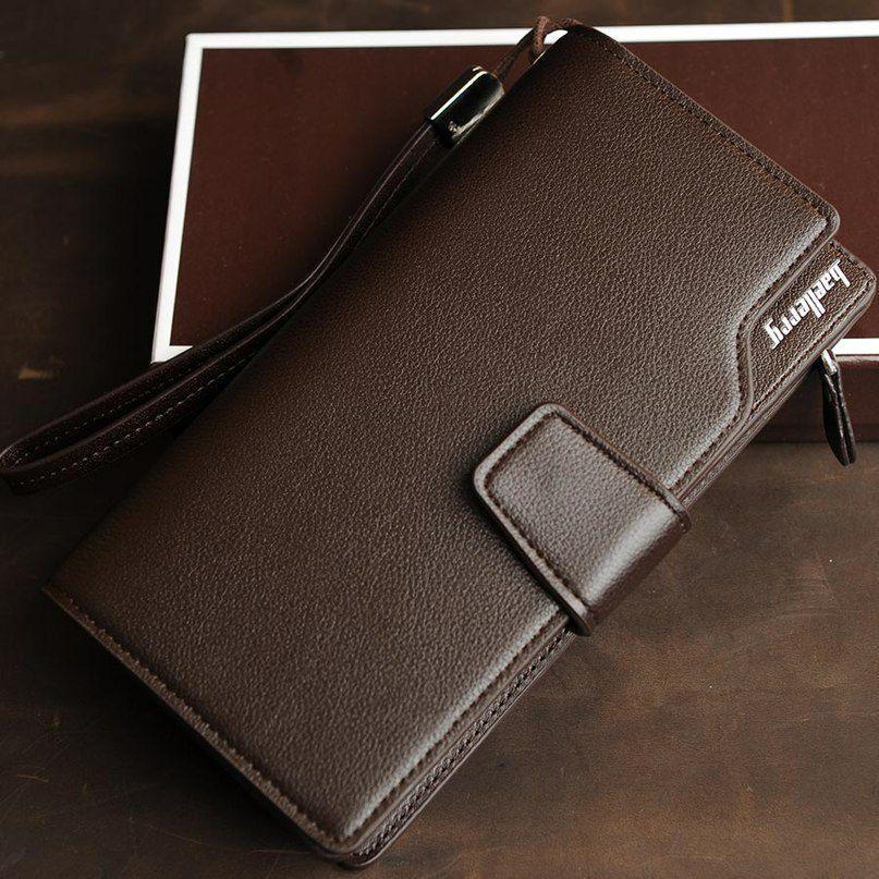 Мужской кошелек - клатч Baellerry Business Коричневый
