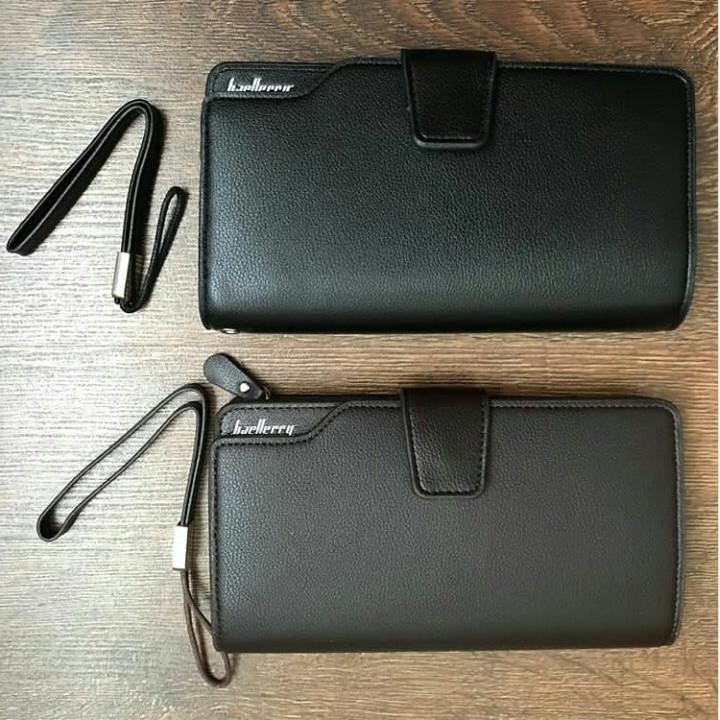 Мужской клатч - кошелек Baellerry Business. Два цвета.