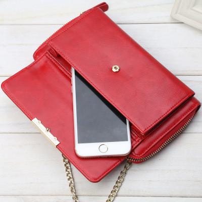 Женский клатч-сумочка с ремешком Baellerry. Три цвета.