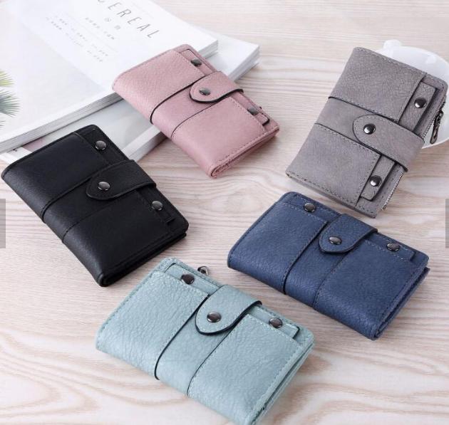 Женский кошелек Mini W. 5 цветов. Стильный и удобный