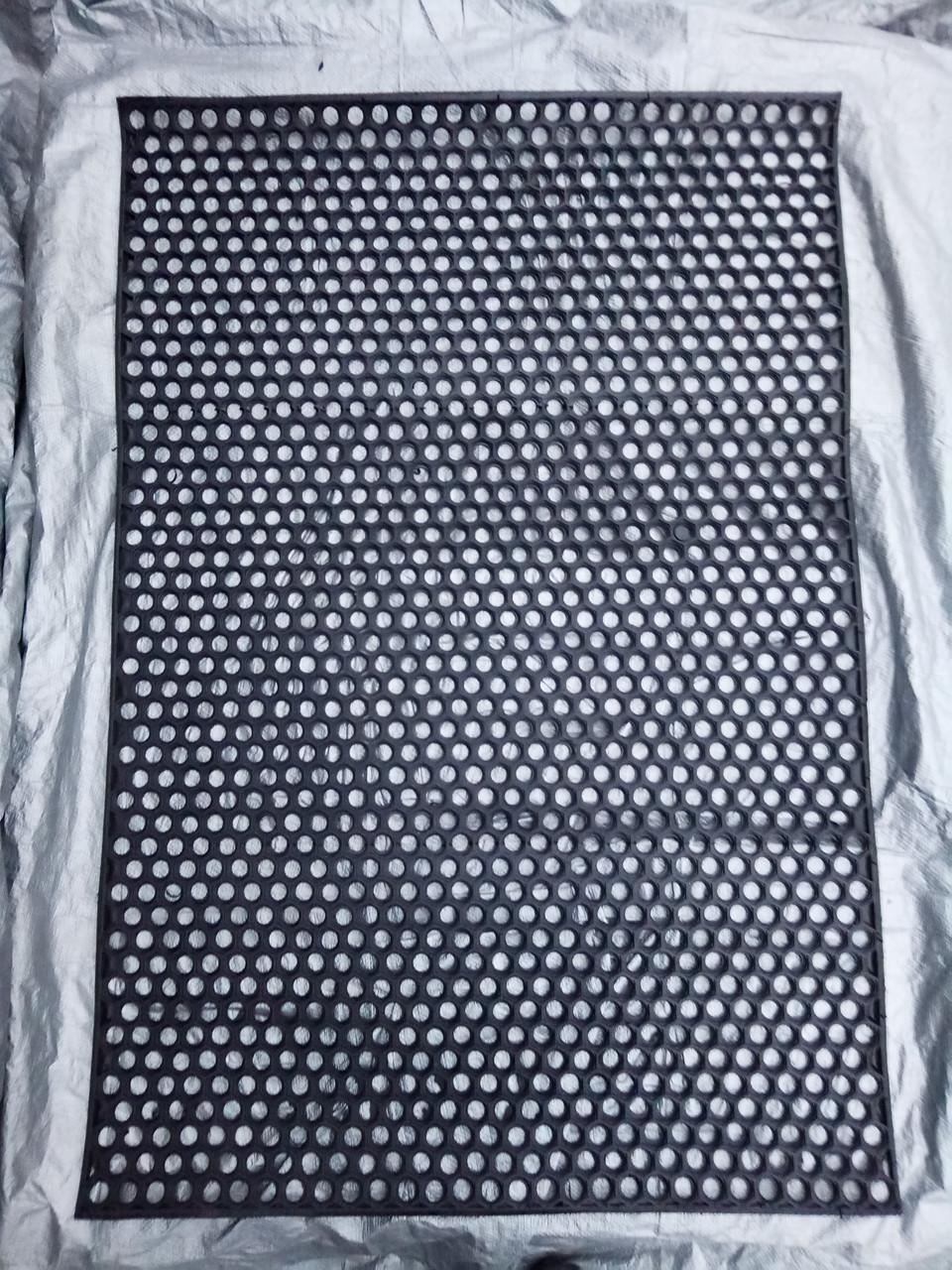 Коврик Резиновый Сота размер 120*80 см (высота ковра - 1 см)