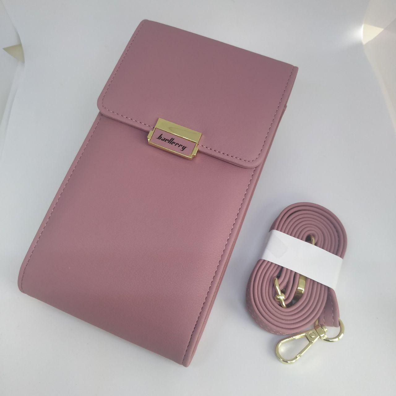 Женская сумочка для телефона Baellerry. Лиловая
