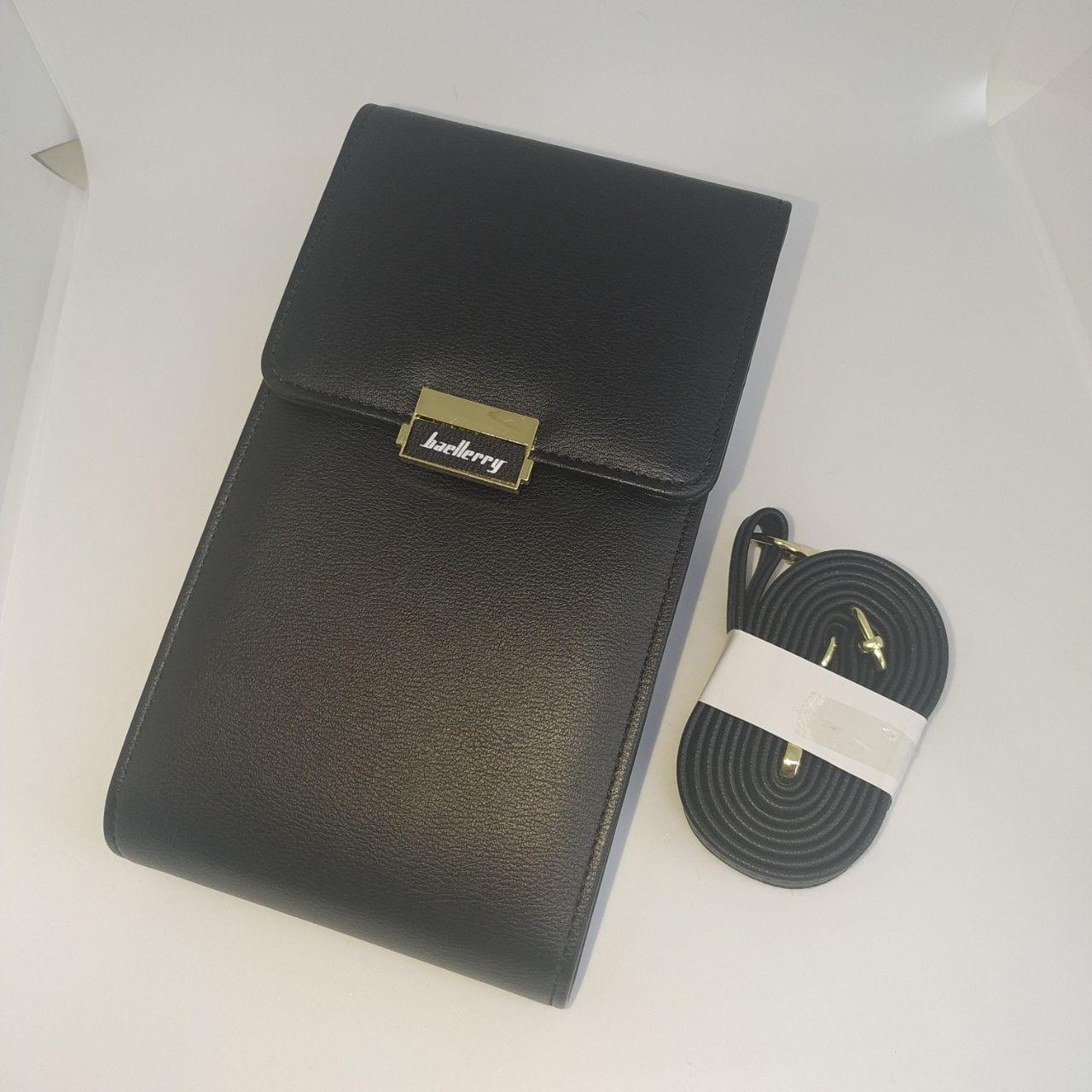 Женская сумочка для телефона Baellerry. Черный