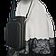 Женская сумочка Baellerry на ремешке из эко-кожи Серая, фото 8