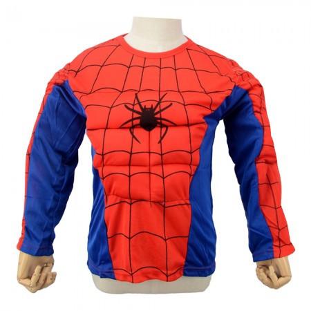 Маскарадный костюм Спайдермен объемный (размер М)