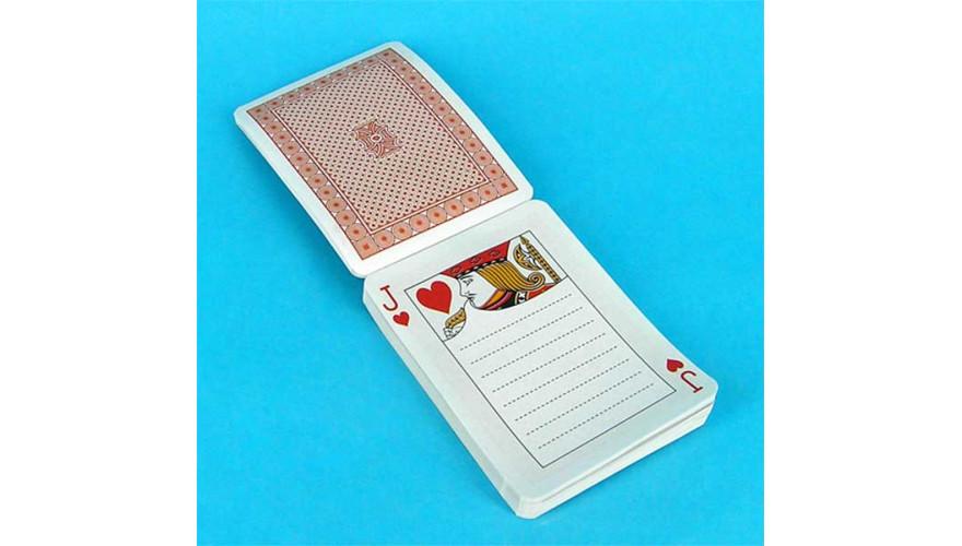 Блокнот колода карт ( карты - блокнот )