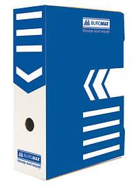 Бокс для архивации Buromax 100мм синий BM.3261-02