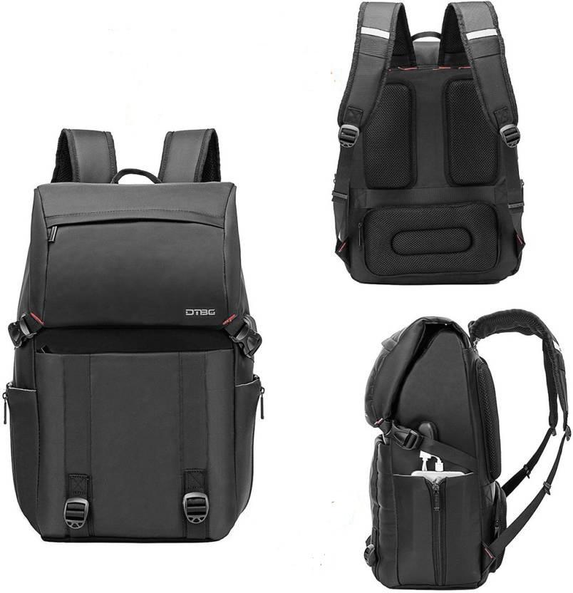 Рюкзак мужской городской с USB портом BST 320038 47х31х18 см. черный