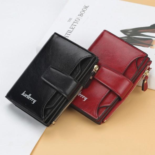 Женский бумажник-портмоне Baellerry из эко-кожи.