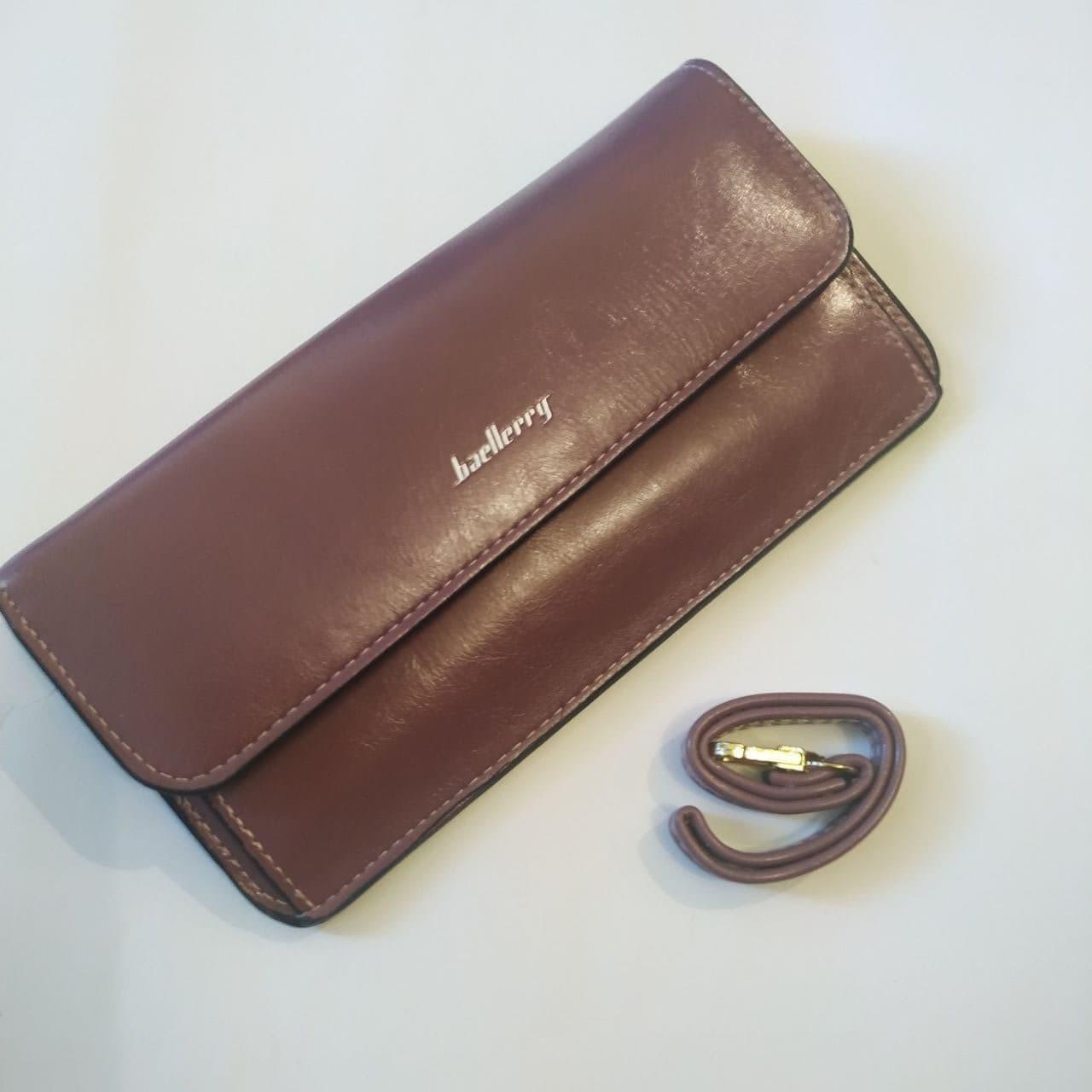 Женский кошелек Baellerry  Elegant. Лиловый цвет