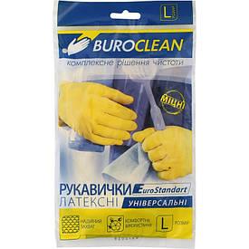 Перчатки хозяйственные Buroclean размер L( 10200302)