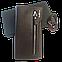 Подарочный набор №21. Мужской стильный клатч-портмоне Baellerry Monaco + браслет из стали и кожи Infinity, фото 6