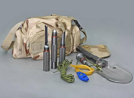Многофункциональная лопата складная автомобильная универсальная в сумке, фото 2
