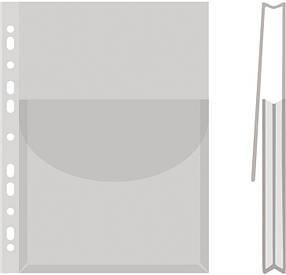 Файл для каталогів глянцевий А4 з клапаном 170мкм