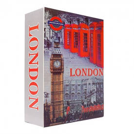 Книга-сейф (24см) Лондон