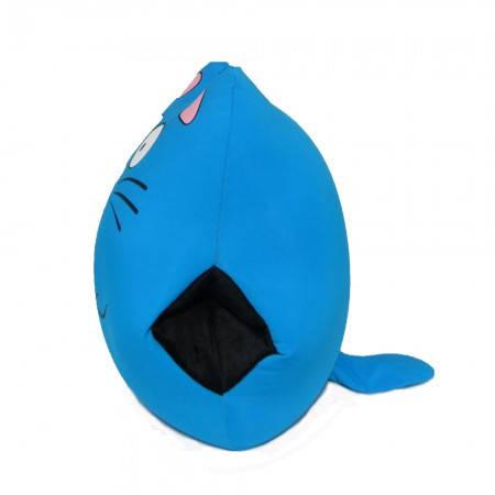 Подушка антистресс Муфта Кот (голубой), фото 2