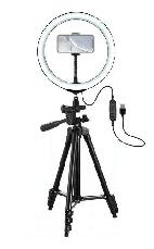 Кольцевая светодиодная LED Лампа RING со Штативом для Селфи 2 м D=26 см Ring Fill Light, фото 3
