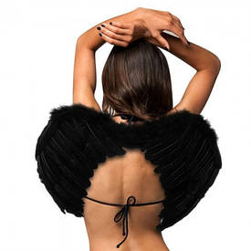 Крила Ангела Середні 40х55см (чорні)