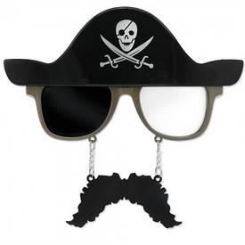 Окуляри з вусами Пірат