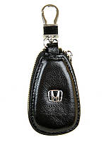 Автоключница кожа F633 Honda black