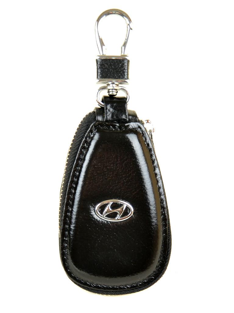 Автоключница кожа F633 Hundai black