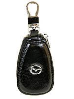 Автоключница кожа F633 Mazda black