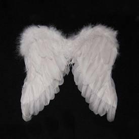 Крила Амура маленькі 40х40см (білі)