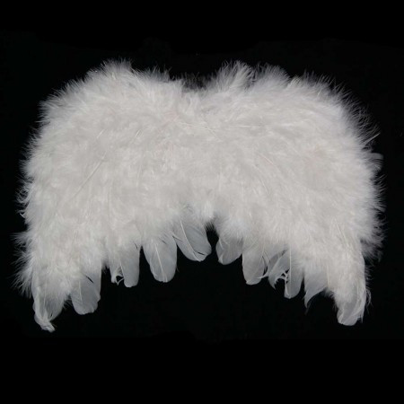 Крылья Ангела Детские 22х32см (белые)