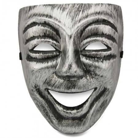 Маска пластик Смех, фото 2