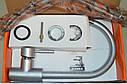 Высокий латунный смеситель для кухни на мойку матовый Haiba HANS 011 (HB0164), фото 8