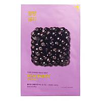 Тканевая маска для лица Holika Holika Pure Essence Mask Sheet Acaiberry с ягодами асаи, 20 мл
