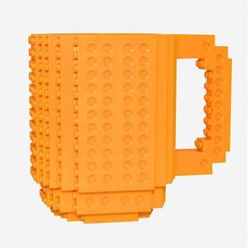 Кружка конструктор (желтая)