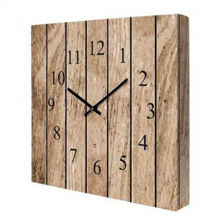Часы на холсте Дерево 14I008, фото 2