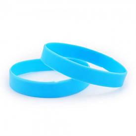 Силіконовий Браслет (блакитний)