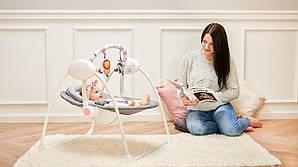 Детское кресло-качалка Lionelo RUBEN STONE GREY
