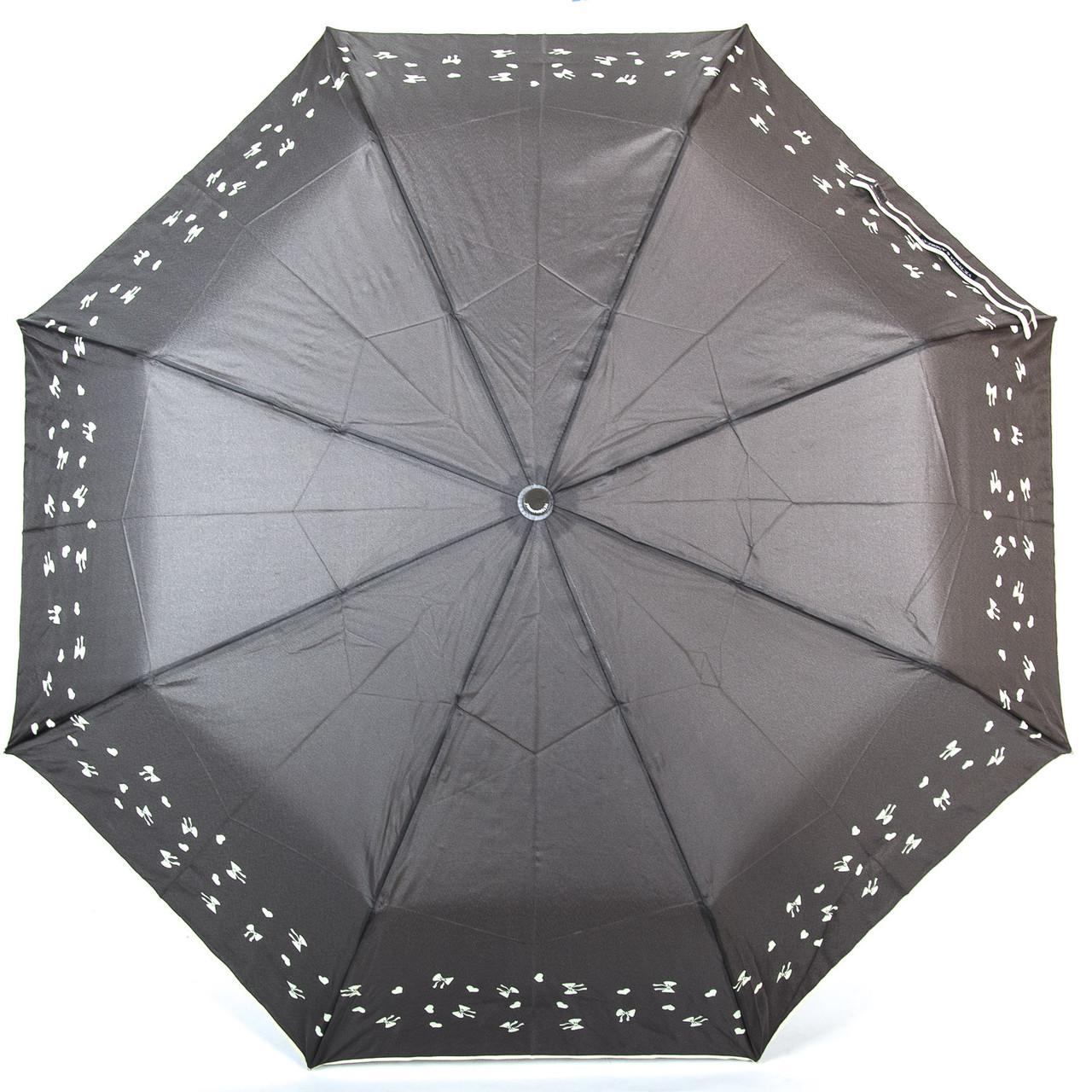 Зонт Механика Женский понж 8702-3