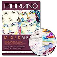 Склейка для смешанных техник Fabriano Mixed Media А4 250г/м2 40л (19100381)