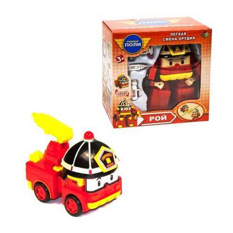 Трансформер Робокар Поли: пожарная машина Рой DT-335, фото 2