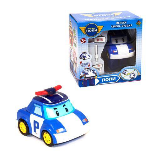 Трансформер Робокар Поли: полицейская машина Поли DT-335
