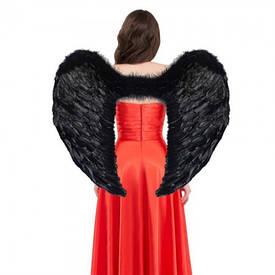 Крила Ангела Супергігант 80х95см (чорні)