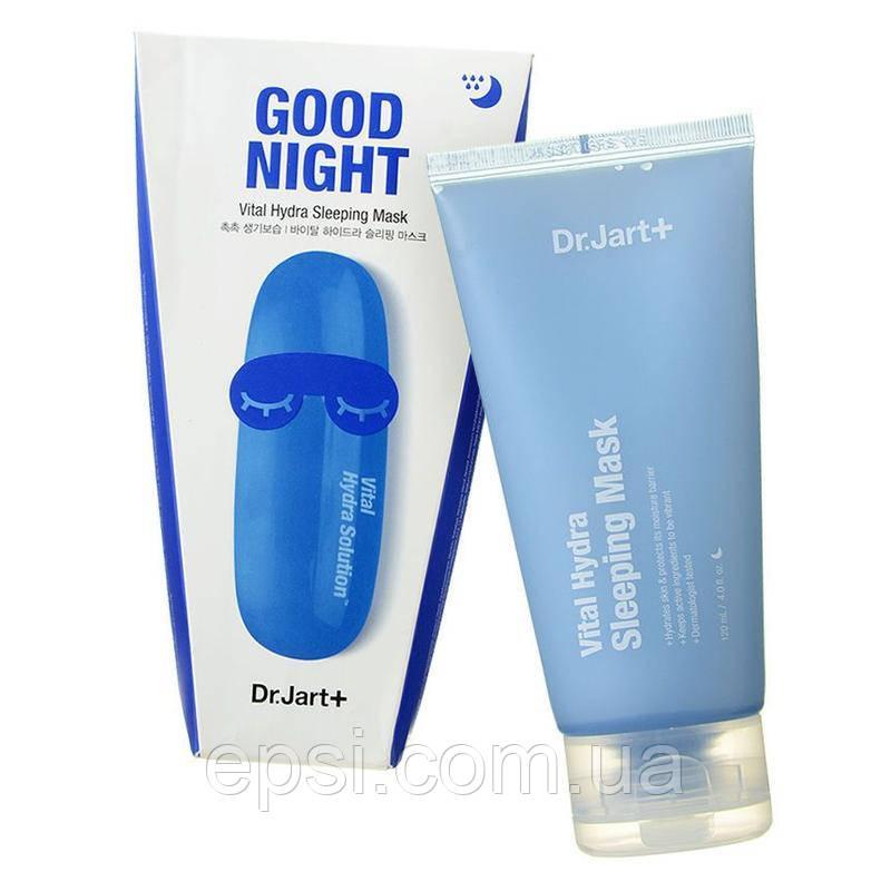Увлажняющая ночная маска Dr.Jart+ Dermask Waterjet Hydra с гиалуроновой кислотой, 120 мл
