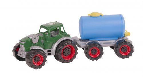 """Трактор """"Texas"""" молоковоз (зеленый), фото 2"""